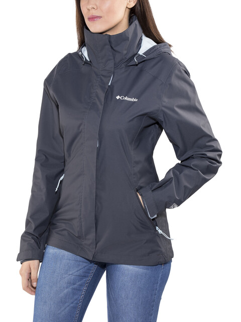 Columbia Trestle Trail Hooded Jacket Women india ink